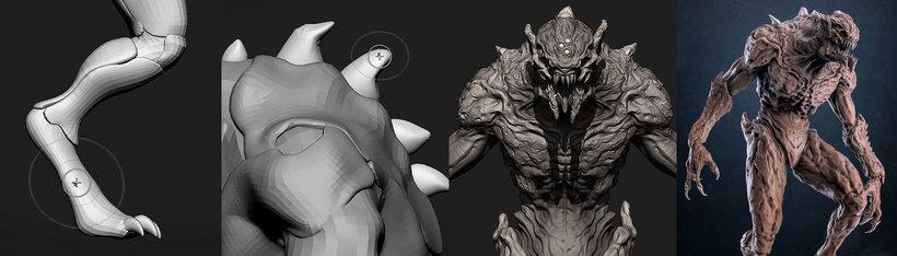 , Modelado en ZBrush: del concept art a la criatura final, Factor3D