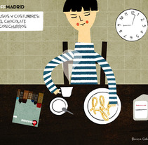 Off Madrid. A Illustration project by Blanca Gómez - 03-07-2009