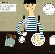 Off Madrid. A Illustration project by Blanca Gómez - 07.03.2009