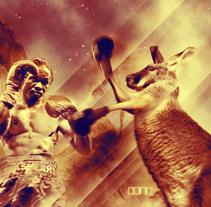 Boxing kangaroo. A  project by Alberto Rosa  - 23-07-2009