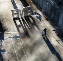 EMB en la calle. A Design project by Alberto Rosa  - 23-07-2009