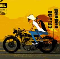 Road postcards. Un proyecto de Ilustración de Oriol Vidal - Miércoles, 02 de septiembre de 2009 17:43:35 +0200