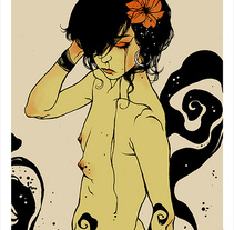 Musas (digital). A Illustration project by Conrad Roset - 16-10-2009