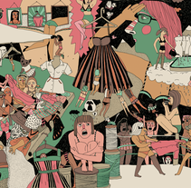 El mes de Octubre. A Illustration project by Caroline Selmes - Oct 20 2009 11:25 AM