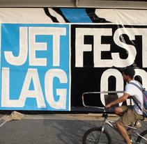 JET LAG  FEST 09. Um projeto de Design, Ilustração e Publicidade de Asier Iturralde         - 02.11.2009