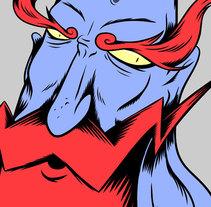 Monk. Un proyecto de Ilustración de Nuno Coelho - Domingo, 08 de noviembre de 2009 17:32:20 +0100