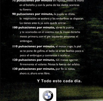 Bmw: Te mueves por emociones  . A Design, Illustration, and Advertising project by Abeautifulliead Creative Team - 09-11-2009