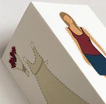 invitación boda. Un proyecto de  de Susana Aguilera Sancho - 19-11-2009