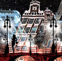Amsterdam at night. A Illustration, Software Development, Film, Video, and TV project by Chema Longobardo Polanco - 25-11-2009