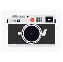 Mi Leica. A Illustration project by Javier Arce - Dec 11 2009 12:12 PM
