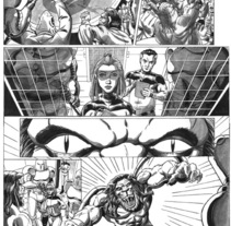 Caged pagina 3. A Illustration project by Tomás Morón Aranda - 19-12-2009