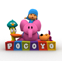 Pocoyo/Zinkia. A Design, Illustration, Advertising, Motion Graphics, Film, Video, TV, and 3D project by Rafael Carmona - 04-02-2010