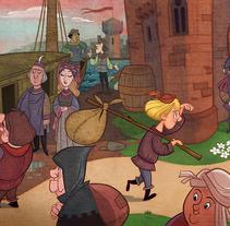 Libros. A Illustration project by Andrés Martínez Ricci         - 28.01.2010