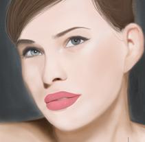 Retrato. Um projeto de Ilustração de Leila Palacio         - 01.02.2010