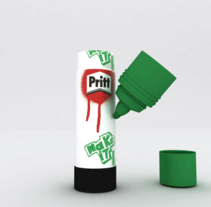 Pritt. A 3D project by Oscar Espinosa - 03-02-2010
