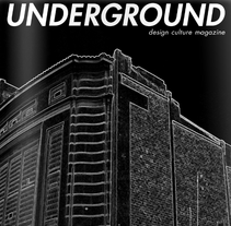 Underground, design culture magazine. A Design project by Kevin Kwik Johannesen - 16-02-2010