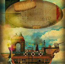 SteamShip. A Design&Illustration project by Mephisto  - Mar 08 2010 09:31 PM