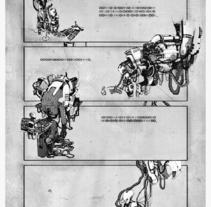 Comic. Un proyecto de Diseño e Ilustración de Ben Galvin         - 12.03.2010