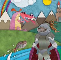 Sant Jordi i el Drac. A Illustration project by Luis Pascual - Mar 23 2010 10:39 AM