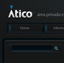 GUI - CMS Ático estudio. A Design, Advertising, Software Development, and UI / UX project by Daniel Rivera Codina - Apr 09 2010 10:36 PM