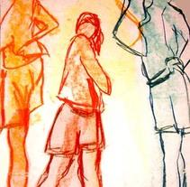 draw en movimiento. Um projeto de Ilustração de raquel arriola caamaño         - 26.04.2007
