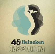 CARTELES JAZZ AL DÍA. A Design project by quino romero ACORAZADO - 06.03.2010