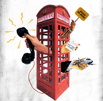 Beefeater - Londonize. A Illustration, and Advertising project by ANA  HIMES - 06.14.2010