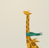 Todos los animales pueden volar. Un proyecto de Ilustración de Iván Álvarez Maldonado - 17.10.2010