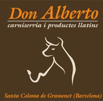 Carniceria Don Alberto. Un proyecto de Diseño y Publicidad de Helena Bedia Burgos         - 09.07.2010