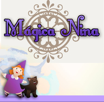 Magica Nina. A Illustration project by jose manuel del solar         - 23.07.2010