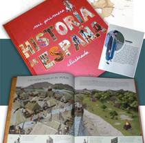 Mi primera Historia de España. A Illustration project by Sara  - Jul 23 2010 04:45 PM