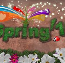 spring'10. Un proyecto de Diseño e Ilustración de Susana García Montes - 03-08-2010