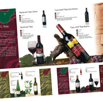 Folleto vinos. A Design project by Jose Jurado - 17-08-2010