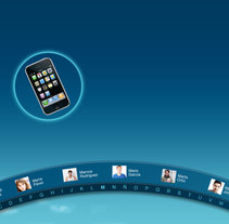 Diseño para aplicación Microsoft Surface. A Design, and UI / UX project by Marta García         - 10.07.2011