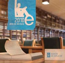 Año de la lectura 2010. Un proyecto de Publicidad, Motion Graphics y 3D de Duplo Motiongraphics  - Viernes, 17 de septiembre de 2010 10:25:53 +0200