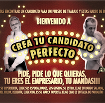Candidato perfecto. A Design, Illustration, and Advertising project by Amador Pastor Campos - 23-09-2010