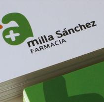 Milla Sánchez | Identidad. Un proyecto de Diseño, Ilustración y Publicidad de Alberto Leonardo - 09-11-2010