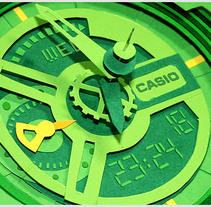 Casio G-Shock GA-110  . A Design, Illustration, 3D, and Photograph project by Lobulo  - Nov 15 2010 02:07 PM