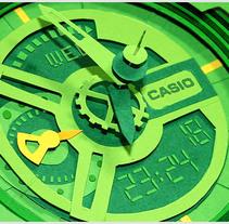 Casio G-Shock GA-110  . Un proyecto de Diseño, Ilustración, 3D y Fotografía de Lobulo  - Lunes, 15 de noviembre de 2010 14:07:57 +0100