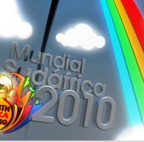 Promo Mundial de Fútbol 2010. A Design, Motion Graphics, Illustration, Film, Video, TV, and 3D project by Antonio Amián - Nov 19 2010 11:01 AM