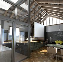 El Antiguo Lavadero. Um projeto de Design e Instalações de Enblanc         - 24.11.2010
