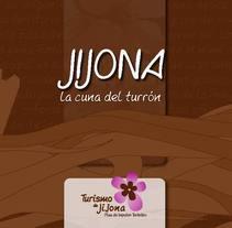 Folleto Turístico de Jijona. Um projeto de Publicidade de Símbolo Ingenio Creativo         - 30.11.2010
