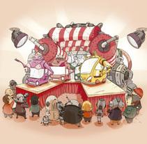 Calendario CEPSA 2011. A Illustration project by Jonatan Cantero - Dec 14 2010 10:57 AM