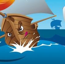 Explorer, regata de barcos. Un proyecto de Ilustración y Publicidad de jorge fernández toledano - Martes, 28 de diciembre de 2010 17:49:40 +0100