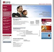 GPS - Gestión. A Design, Advertising, Software Development&IT project by César Candela - 30-12-2010