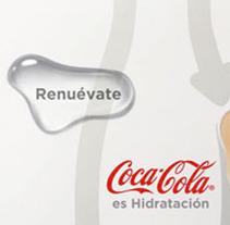 Coca-Cola 1. Um projeto de Design e Publicidade de Carlos Abril González         - 31.12.2010