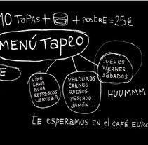 Cafe europa. A Design, Software Development, and UI / UX project by Marc Borràs Gallardo         - 12.01.2011