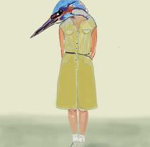 Serie Fulana Fauna digital.. A Illustration project by Victoria Ruiz Diaz         - 25.01.2011