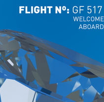 Flight Nº GF 517. A Design, and Advertising project by Juan Galavis - Feb 01 2011 07:11 PM