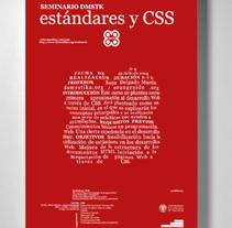 Cartel seminarios Dmstk Valencia. Un proyecto de Diseño de Mang Sánchez Lázaro - Lunes, 14 de febrero de 2011 16:44:03 +0100